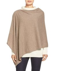 Eileen Fisher | Natural Cashmere Poncho | Lyst