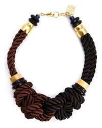 Lizzie Fortunato | Blue 'spirits For Sale' Necklace | Lyst