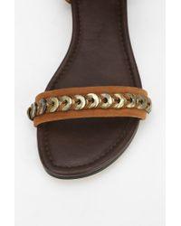 Joe's Jeans - Brown Mack Ii Anklewrap Sandal - Lyst
