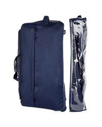 Lipault - Blue Two-wheel Duffle Bag-30 In. for Men - Lyst