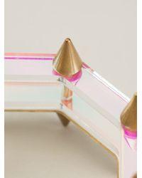 Sarah Angold Studio - Pink 'Sirata' Bracelet - Lyst