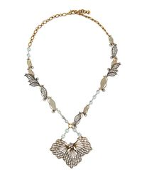 Lulu Frost - Blue Vine Cactus Flower Necklace - Lyst