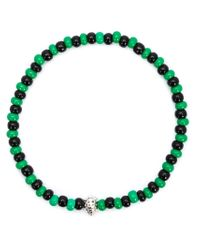 Luis Morais | Green Mini Lady Bug Beaded Bracelet | Lyst