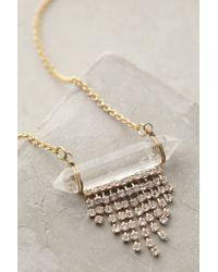 Anthropologie - Metallic Headlands Layer Necklace - Lyst