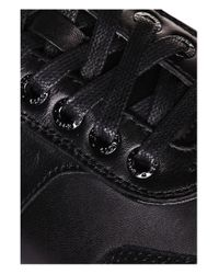 BOSS Green | Black 'victoire Fiction' | Suede Leather Sneakers for Men | Lyst