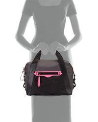 Rebecca Minkoff - Gray Subway Small Nylon Tote Bag - Lyst