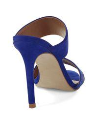 Steven by Steve Madden | Blue Roxxana Sandals | Lyst