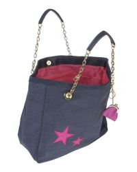 Pinko   Blue Handbag   Lyst