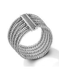 John Hardy - Metallic Multi-Row Bracelet - Lyst