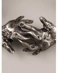 Alice Waese - Metallic Hands Bracelet - Lyst