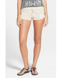 Rip Curl - White 'freedom' Shorts - Lyst