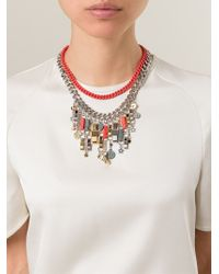 Marc By Marc Jacobs - Metallic 'all Tied Up' Necklace - Lyst