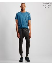 Brooklyn Calling | Blue Lunar Dye Pocket Tee for Men | Lyst