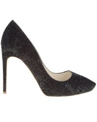 Rupert Sanderson | Black Onyx High-heeled Pumps | Lyst