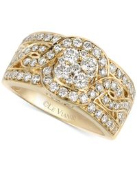 Le Vian | Metallic Woven Diamond Ring (1-1/4 Ct. T.w.) In 14k Gold | Lyst