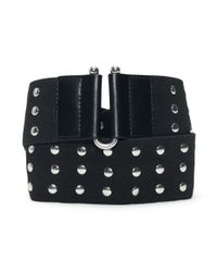 Club Monaco - Black Jocelin Belt - Lyst