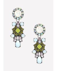 Bebe | Multicolor Pastel Statement Earrings | Lyst