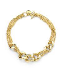 1AR By Unoaerre - Metallic Diamond Dust Necklace - Lyst
