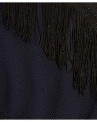 Libertine-Libertine - Blue Navy Tassle Stripe Fire Dress - Lyst