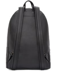 PB 0110 - Black Leather Backpack - Lyst