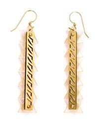 Sarah Angold Studio - Pink 'Sintra' Earrings - Lyst
