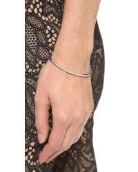 Samantha Wills - Metallic Moonlight Mile Cuff Bracelet Silver - Lyst