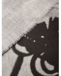 Lost & Found - Black Radiography Print Scarf - Lyst