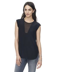 Rebecca Taylor | Black Charlie Top | Lyst