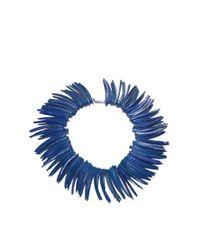 DSquared² - Dark Blue Spike Necklace - Lyst