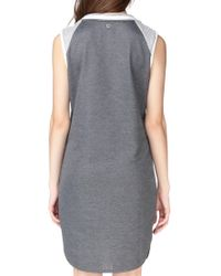 Numph   Gray Pencil Dress   Lyst