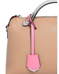 Fendi | Natural By The Way Leather Tote | Lyst