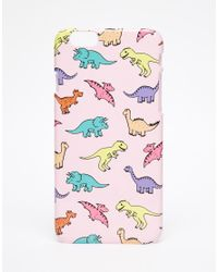 ASOS - Multicolor Dino Iphone 6 And 6s Case for Men - Lyst