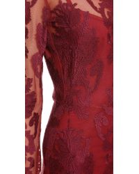 For Love & Lemons - Red Ethereal Maxi Dress - Crimson - Lyst