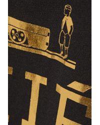 Brian Lichtenberg - Black Homiés Cotton-jersey Tank - Lyst