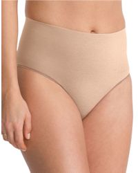 Spanx | Natural Everyday Shaping Briefs | Lyst
