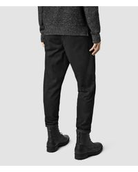 AllSaints - Black Marteau Chino for Men - Lyst