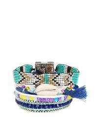 Hipanema | Blue Fluoblu Bracelet | Lyst