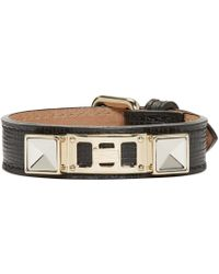 Proenza Schouler | Black Ps11 Leather Bracelet for Men | Lyst