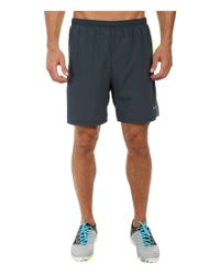 """Nike - Gray 7"""" Pursuit 2-in-1 Short - Lyst"""