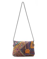 Shashi - Multicolor Kamila Clutch - Natural/multi - Lyst