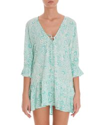 Cool Change - Blue Mariposa Michelle Tunic - Lyst