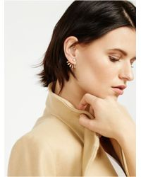 BaubleBar | Metallic Crystal Ray Ear Jackets | Lyst