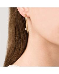 Kelly Wearstler | Metallic Faxon Earring | Lyst
