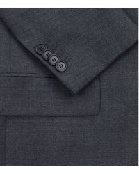Givenchy - Blue Lapel Trim Classic Wool Suit for Men - Lyst