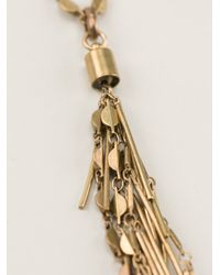 Isabel Marant | Metallic Good Swung Necklace | Lyst