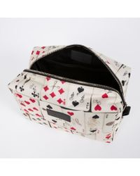 Paul Smith | White Dice Washbag for Men | Lyst