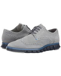 Cole Haan | Gray Zerogrand Dcon Wing Ox for Men | Lyst