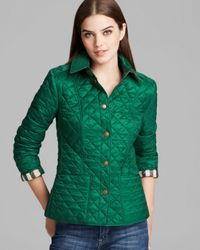 Burberry - Green Brit Kencott Jacket - Lyst