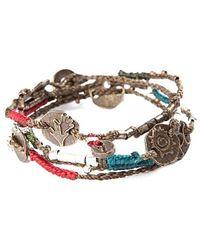 Wakami   Black Woven Dream Bracelet   Lyst