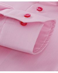 Eton of Sweden - Pink Contemporary Fit Striped Shirt for Men - Lyst